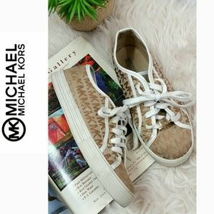 MICHAEL KORS MK Womens Sneakers tenis shoe Laces